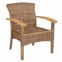 coffeeville stackable armchair color grand cognac (cpw-003)