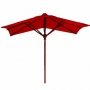 10 x 6 foot rect nyatoh wood umbrella frame only  (um-008 tg)