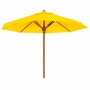 13-foot nyatoh wood umbrella frame only (um-005 tg)
