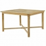 47 inch square dining table (cross support) (tb-l022)