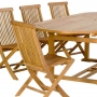 set 17 -- 43 x 71-94 inch 0val extension table (tb f-a016 r)  & folding chairs (ch-139)