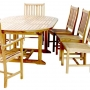 set 22 -- 47 x 63-87 inch oval extension table x-thick wood (tb f-a012 r), coto de caza side chairs & coto de caza armchairs