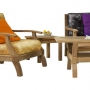 set 30 -- del mar (armchair,loveseat,ottoman,coffee table) & square side table (tb-k001 r)