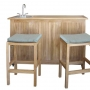 set 31 -- fiji mini bar (bar-002) & portland stools (ch-058)