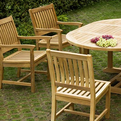 set   x   inch oval extension table x thick: extension table f